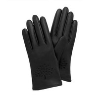 Iconic Tree Leather Gloves
