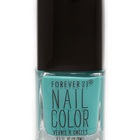 FOREVER 21 Sea Green Nail Polish Sea Green One