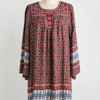 Boho Mid-length 3 Shift Apartment Shopping Dress