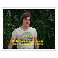 'that 70's show kelso' Sticker by curlyq 1122
