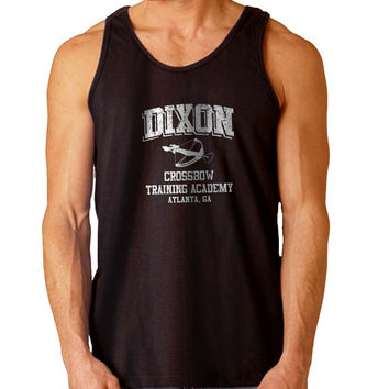 Daryl DIXON Crossbow Training Academy For Mens Tank Top Fast Shipping For USA special christmas ***