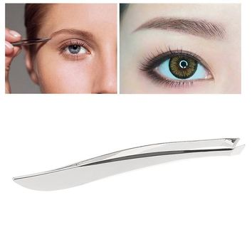 Anti-static Tweezers Watchmaker Eyebrow Clip Nose Tweezers