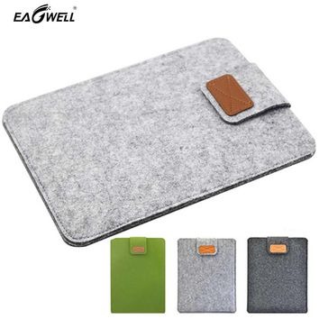 Felt Laptop Sleeve For Apple iPad Air 2 Case For iPad Mini 1 2 3 4 Tablet Cover Pouch for Xiaomi Mipad 9.7 inch 7.9 inch PC Bag
