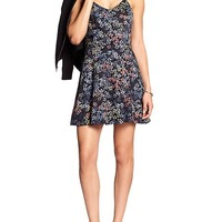 Banana Republic Womens Factory Flare Dress