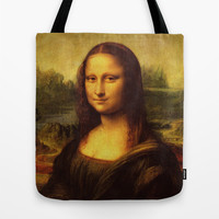 Leonardo Da Vinci Mona Lisa Tote Bag by Art Gallery