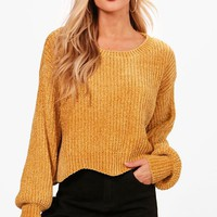 Holly Scallop Hem Chenille Jumper | Boohoo