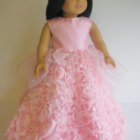 18 inch Doll Clothes, Fits American Girl Party Dress