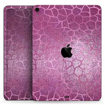 """Glamorous Pink Scales - Full Body Skin Decal for the Apple iPad Pro 12.9"""", 11"""", 10.5"""", 9.7"""", Air or Mini (All Models Available)"""