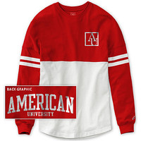 American University Eagles Women's Ra Ra Long Sleeve T-Shirt