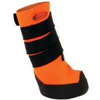 Avery Hi Top Dog Boots- Blaze Orange Color, X-Large