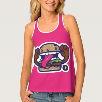 Billboard Hot 100 Festival | Burger Man Icon Tank Top