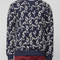 CPO Floral Pullover Sweatshirt  - Urban Outfitters