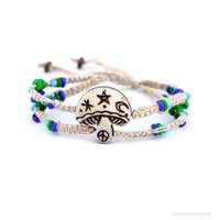 Mystical Mushroom Bracelet on Sale for $9.99 at The Hippie Shop