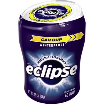 Eclipse Sugar Free Winterfrost Big E Pak Chewing Gum, 60 Ct - Walmart.com