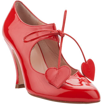 RAQUEL RED PATENT - Minna Parikka