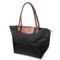 Longchamp Women's Le Pliage Large Tote Bag Noir - Black