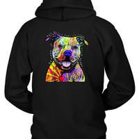 Beware Of Pitbulls They Will Steal Your Heart Hoodie Two Sided
