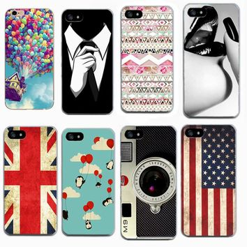 New soft tpu painted Cases for Apple iphone 4 4S 4G 5 5S 6 6S 7 Iphone 8 Case For iPhone6 Back Skin Cover Cell Phone Shell