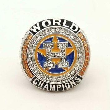 Drop Shipped  2017 Houston Astros SPRINGE and ALTUVE Major League Baseball custom sports Replica Men world Championship Ring