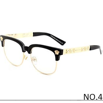 Versace Men's and Women's Tide Brands Fashionable High-Quality Sunglasses F-ANMYJ-BCYJ NO.4