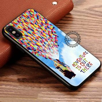 Adventure is Out There Up iPhone X 8 7 Plus 6s Cases Samsung Galaxy S8 Plus S7 edge NOTE 8 Covers #iphoneX #SamsungS8