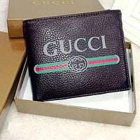 Perfect Gucci Men Leather Purse Wallet