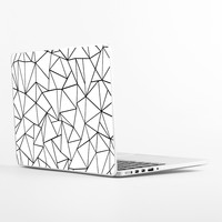 Ab Outlines Laptop Skin