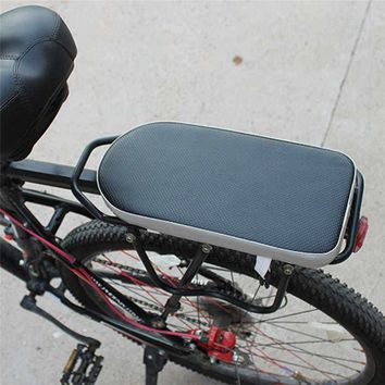 Comfortable Bike Bicycle Soft Cushion Seat Rear Rack for Adults Children Safety & Survival Z1218