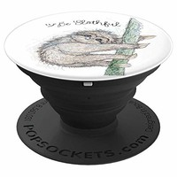 OLena Art Design Be Slothful - PopSockets Grip and Stand for Phones and Tablets