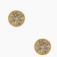 Kate Spade Bright Spot Studs Clear Gold ONE