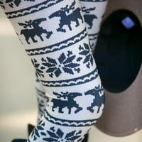 Reindeer Kisses Leggings