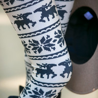 Reindeer Kisses Leggings - Two Colors!