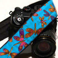 Butterflies Camera Strap.dSLR Camera Strap. Camera Accessories. Women accessories
