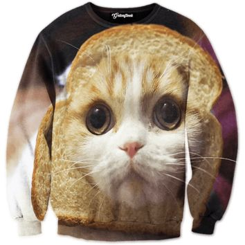 Bread Cat Crewneck
