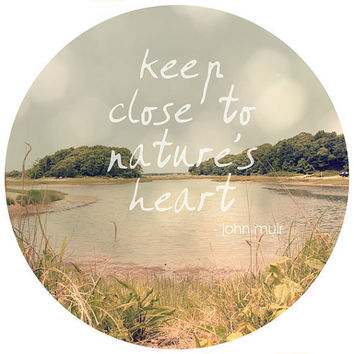 Nature's Heart Print 8x8 Fine Art Photo by JillianAudreyDesigns