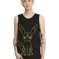 Pokemon Umbreon Outline Tank Top
