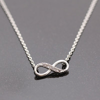 INFINITY necklace(silver)