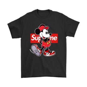 ONETOW Old Disney Mickey Mouse Style Supreme Shirts