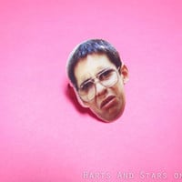 Freaks And Geeks Bill Haverchuck Grossed Out Face Ring