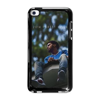 J. COLE FOREST HILLS iPod Touch 4 Case Cover