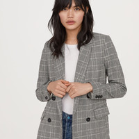 H&M Double-breasted Jacket $59.99