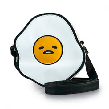 Gudetama Puffy Vegan Leather Crossbody Bag