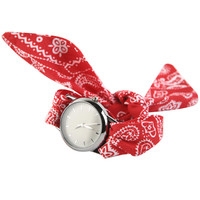 Fabric Strap Wristwatch