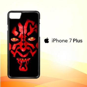Star wars darth maul scary face V0516 iPhone 7 Plus Case