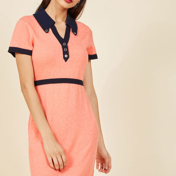 Catalogued Charm Knit Dress | Mod Retro Vintage Dresses | ModCloth.com
