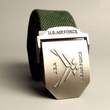 U.S. Air Force Canvas Belt