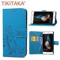 Huawei Ascend Dirt-resistant Wallet Leather Case 0930-59