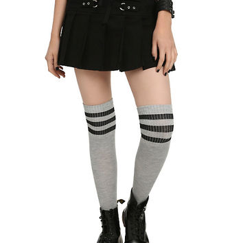 Royal Bones By Tripp Black Lace-Up Pleated Skirt