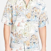 Men's Tommy Bahama 'Have You Scenic' Silk Camp Shirt,