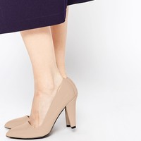London Rebel Point Heeled Shoes